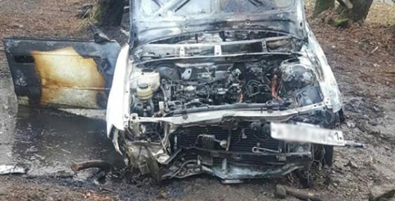 В Петропавловске-Камчатском сгорела «Тойота-Виста» (фото)