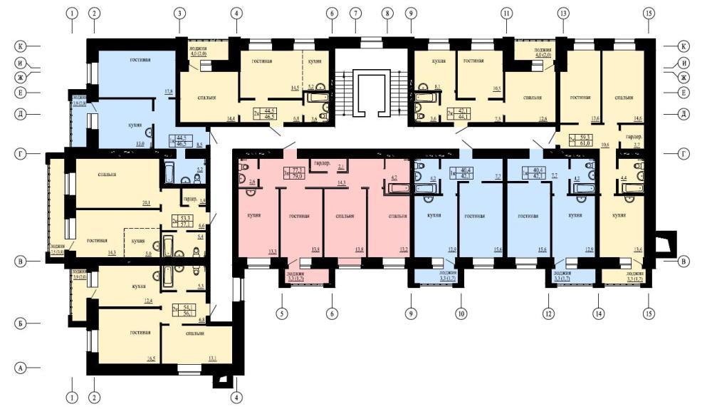 Двухуровневые квартиры с панорамными окнами продаёт РУС на Матвеева в Чите