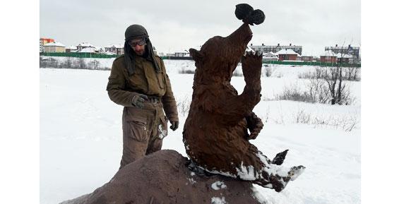 В парке на Медвежьем озере в Петропавловске поставили первый арт-объект (фото)