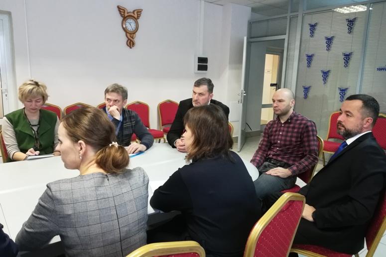 Проблемы развития Забайкалья озвучили Евгению Минченко в Союзе «Забайкальская ТПП»