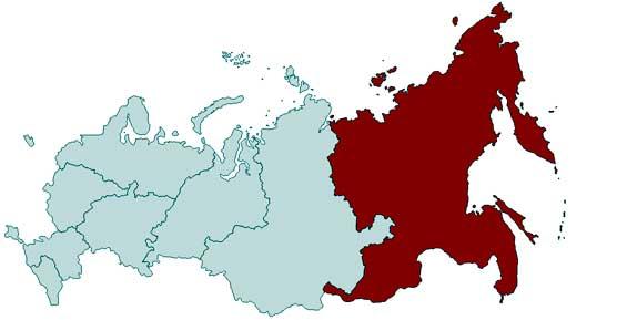 В Дальневосточный федеральный округ включили Бурятию и Забайкалье