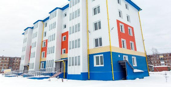 40 семей в селе Мильково переедут в новый пятиэтажный дом