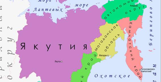 Камчатка, Магадан и Чукотка решили уточнить границы между собой