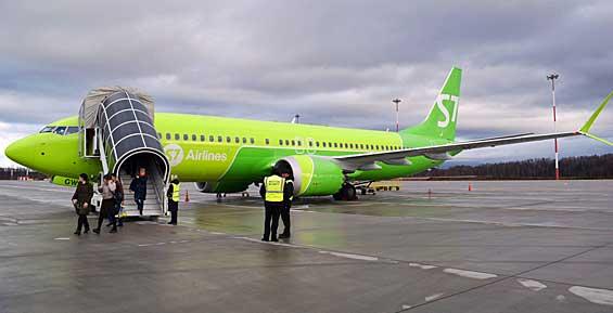 Аэропорт Камчатки впервые принял самолёт нового поколения