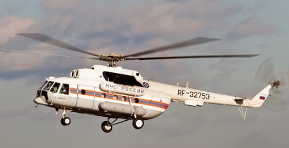 В район крушения судна «Анатолий Крашенинников» вылетел вертолёт МЧС