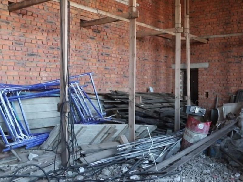 Школьники в селе Читинского района вынуждены заниматься физкультурой на улице