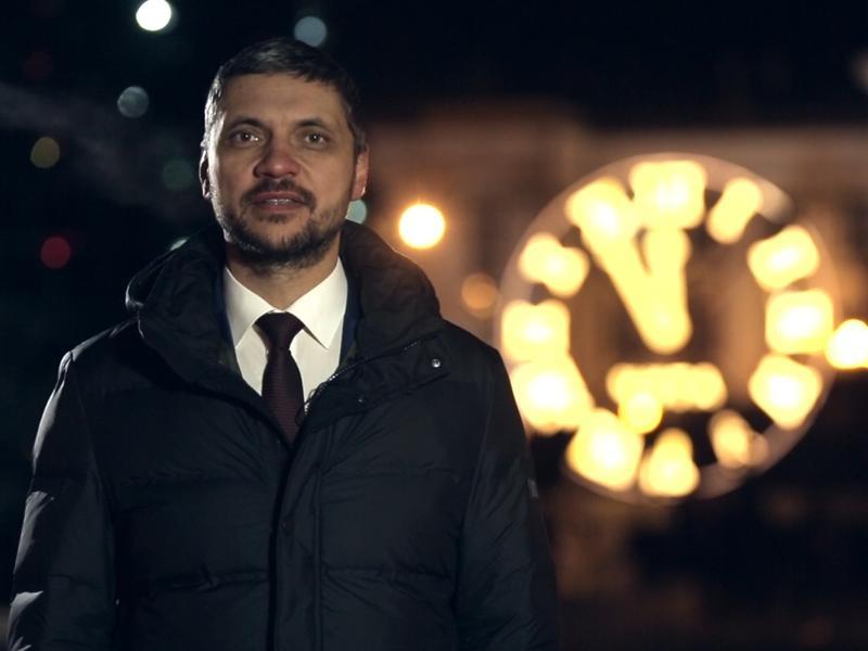 Осипов в видеообращении поздравил забайкальцев с Новым годом