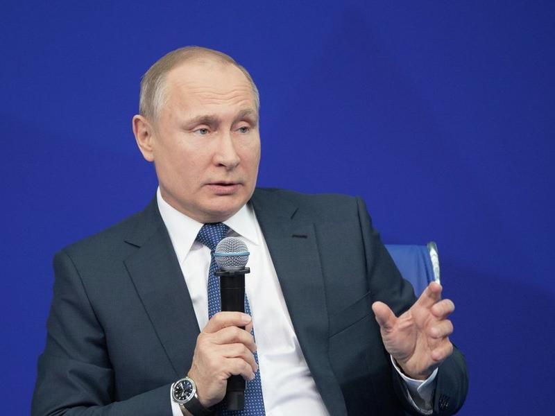 Путин: Нет чёткого понимания, что нужно делать, нечего приходить во власть