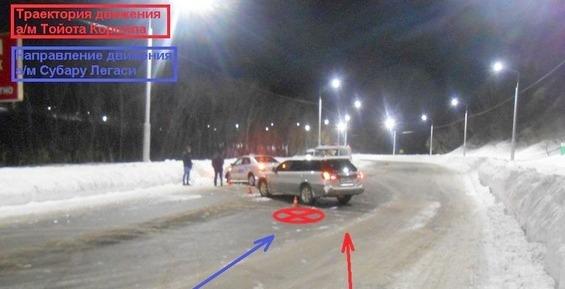 На Камчатке из-за столкновения двух легковушек пострадала 26-летняя пассажирка (обзор ДТП)