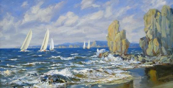 Камчатцев приглашают на выставку живописи и графики «Морем вдохновленные»