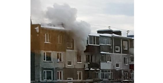 На Камчатке из горящего дома на Циолковского спасли шесть человек (фото)