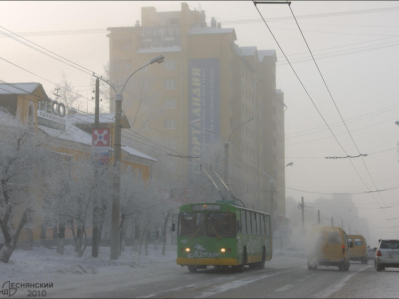 Движение троллейбусов восстановлено в Чите