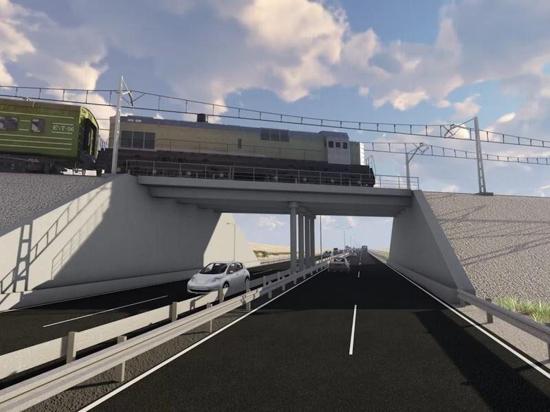 ЗабЖД предложила построить две двухуровневые развязки в Чите