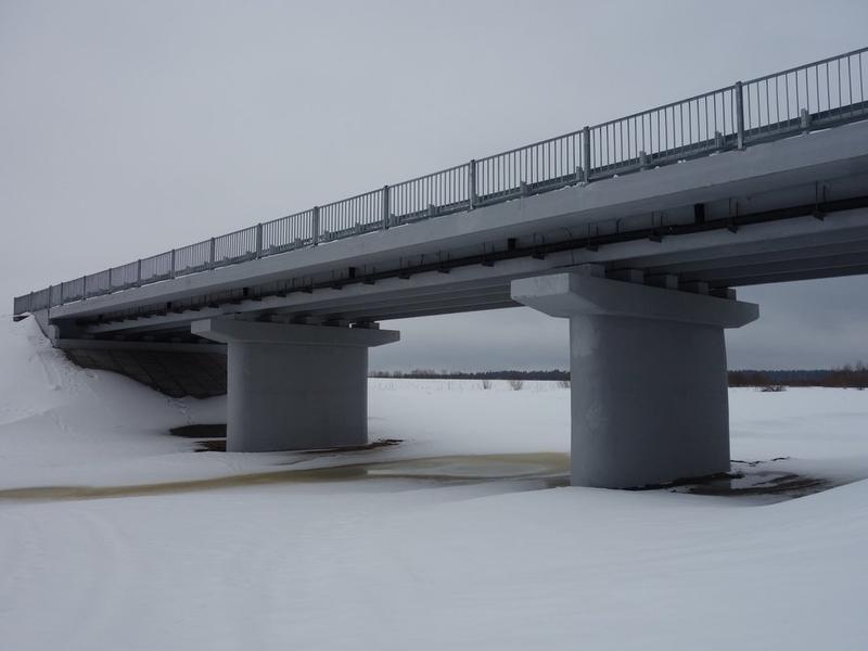 Более 0,5 млрд р потратят на реконструкцию закрытого моста в Дарасуне